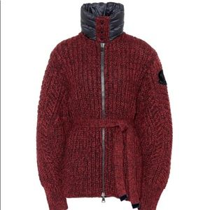 Moncler Gamme rouge NWT Cardigan with down neck